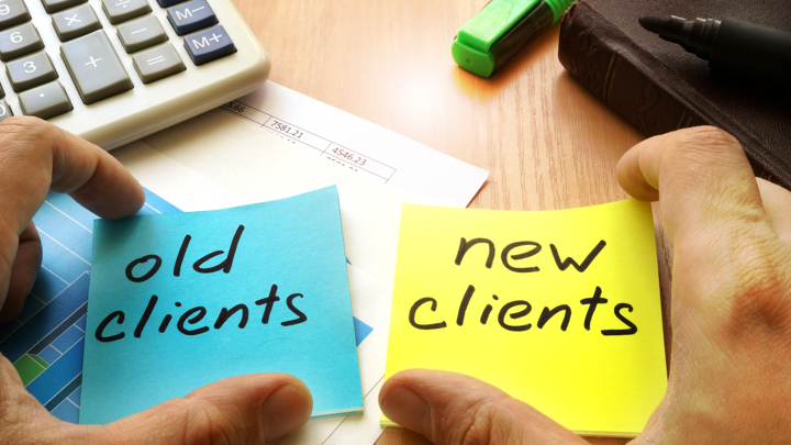 How Big is the Difference between Upselling Service to Existing Clients and Selling Service to New Clients?
