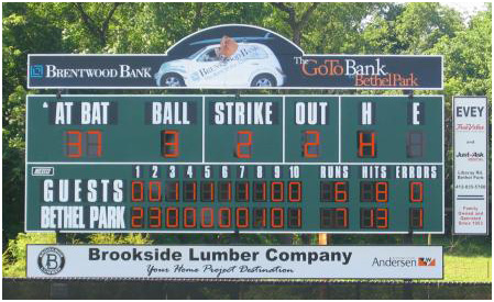 toadvine outdoor scoreboard