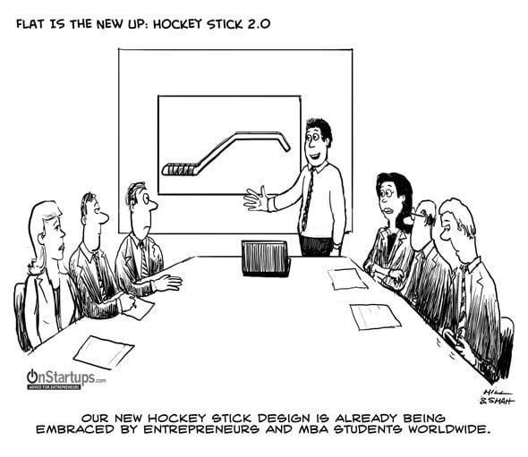 Startup Hockey Stick Graph