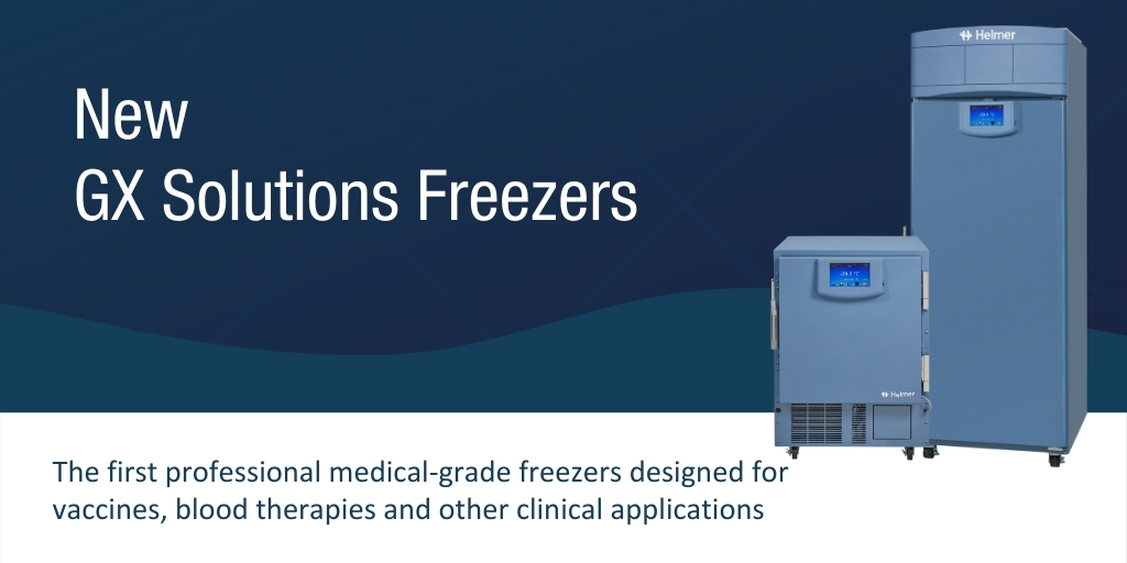 GX Solutions Innovation Continues with Launch of Laboratory & Plasma Freezers