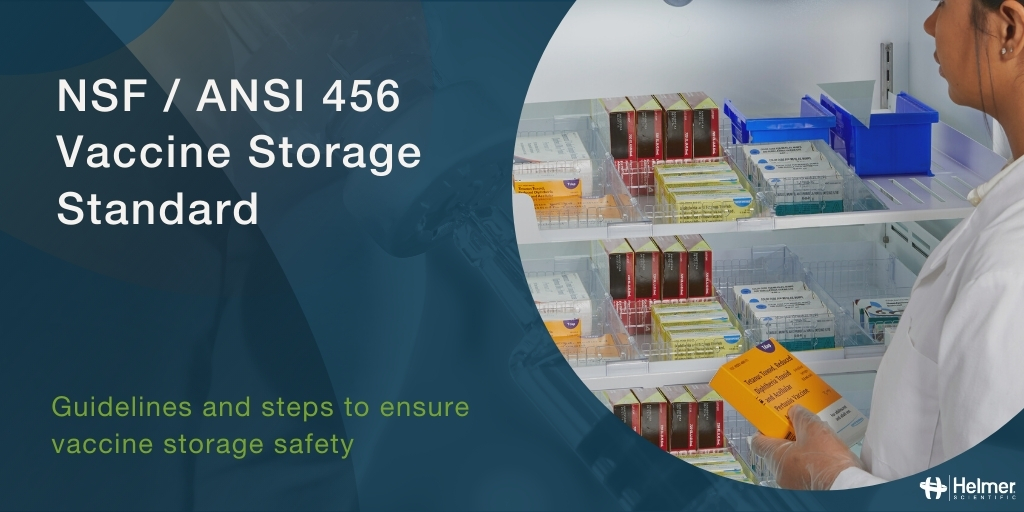New Standard for Vaccine Storage Published