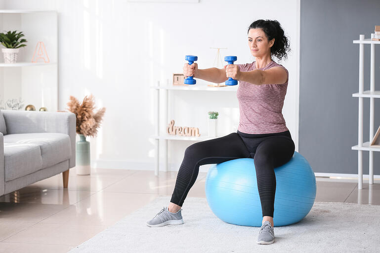 At Home Fitness Equipment for your New Year's Goals