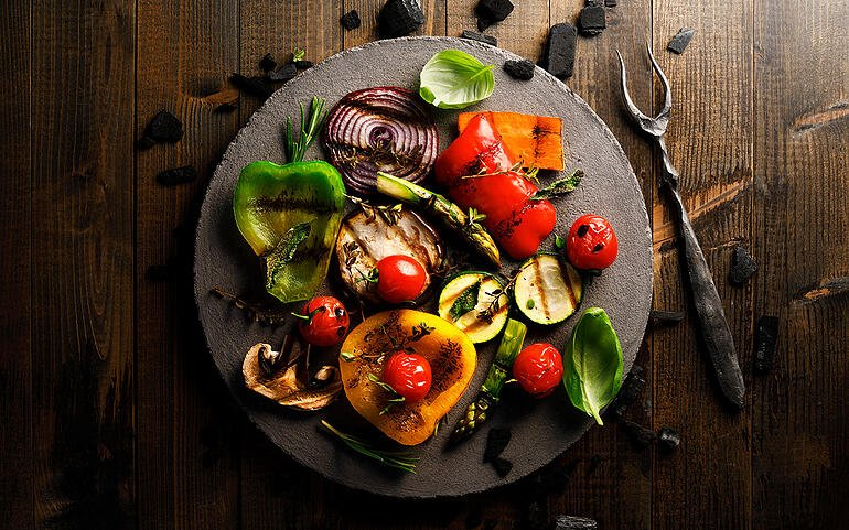 Recipe of the Week: Grilled Vegetable Farro Salad