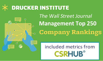The Wall Street Journal and Drucker Institute Management Top 250