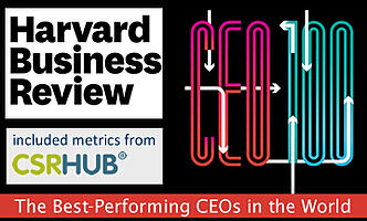 CSRHub Metrics Included in Harvard Business Review Top CEO's List