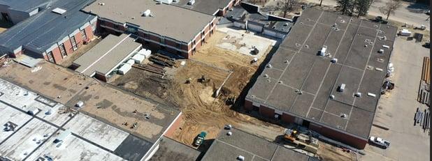 VIDEO: Widseth, Hy-Tec Construction Talk Progress at Brainerd High School
