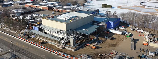 VIDEO: Construction Continues on Brainerd High School