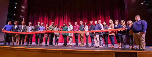 Pillager School Holds Grand Opening for CTC Center Auditorium Addition