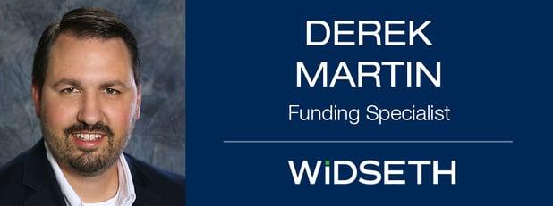 Widseth Welcomes Funding Specialist Derek Martin