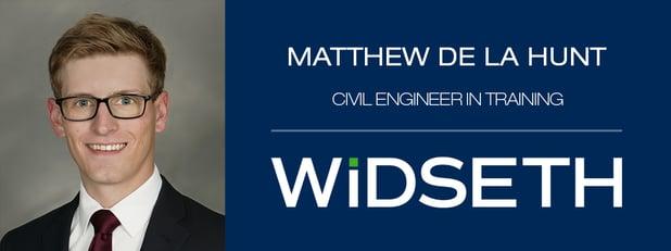De La Hunt Joins Widseth's Civil Engineering Team