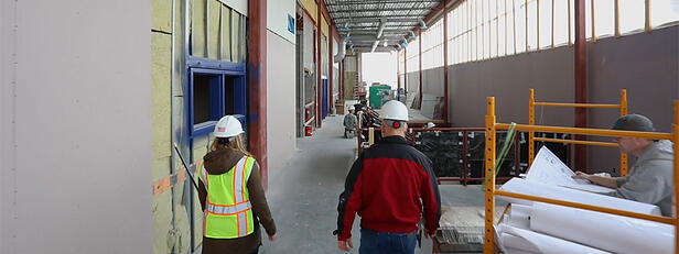 VIDEO: Baxter Elementary School Construction Update with Widseth's Lindsey Kriens