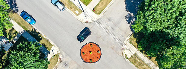 To Help Slow Neighborhood Traffic, Try This Strategy