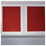 Mars Red Cabinet Inserts