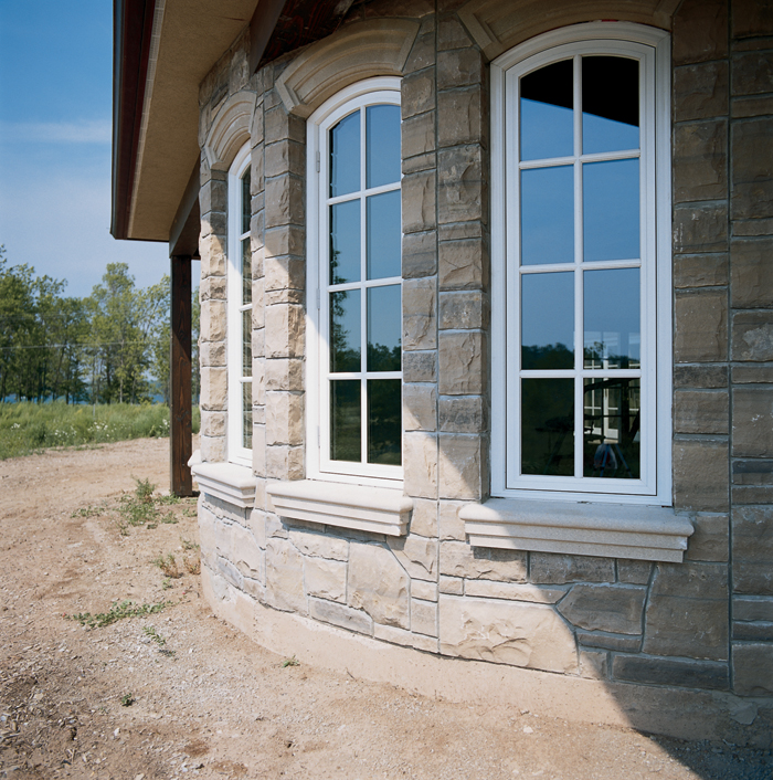 Architectural single archtop casement windows with for Anderson doors