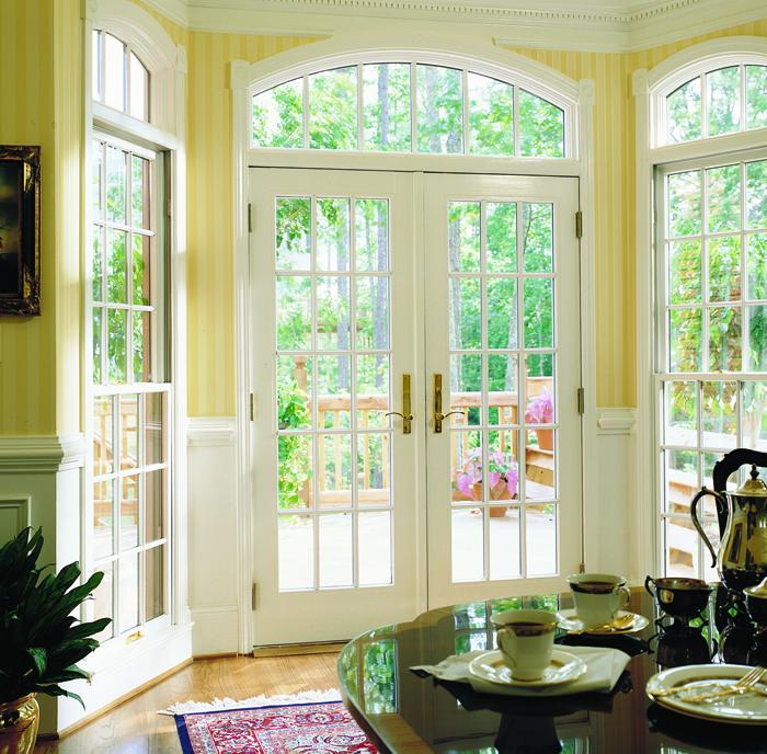 Exterior doors andersen 400 series frenchwood hinged patio door colonial grilles planetlyrics Choice Image