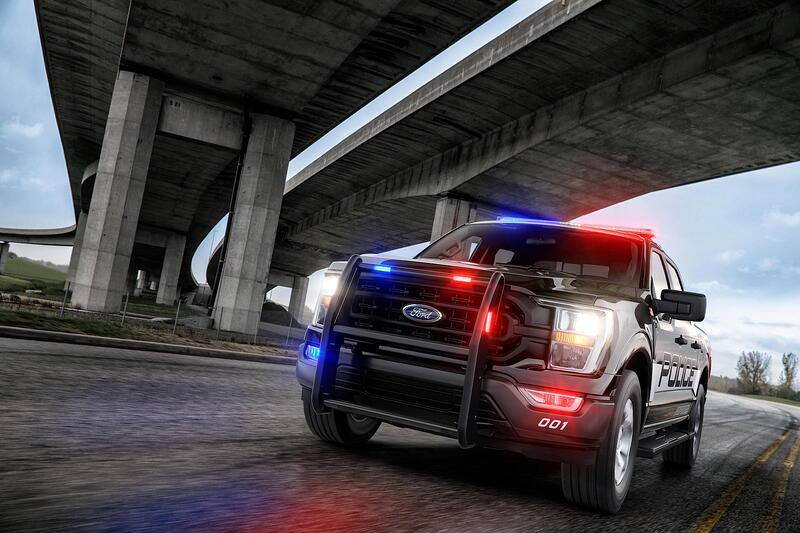 2021 Ford F-150 Police Pursuit Responder