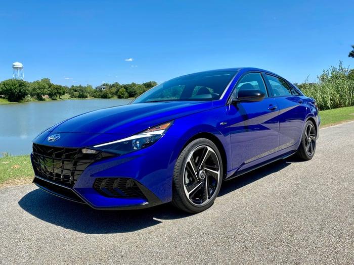 2021 Hyundai Elantra N Line Review