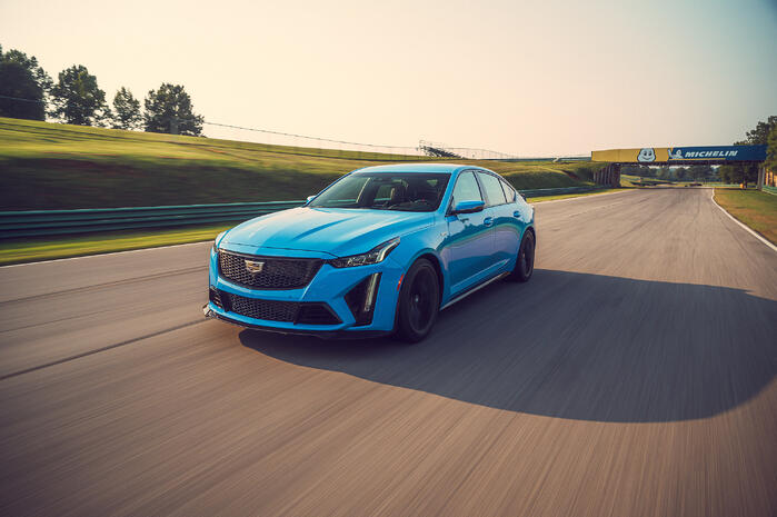 The 2022 Cadillac V-Series Blackwings Are Here