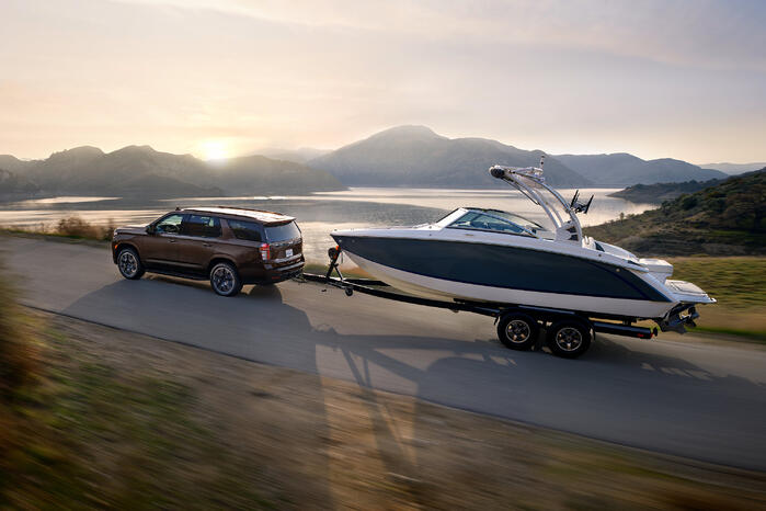 2022 Suburban & Tahoe Get More Power and Added Technology