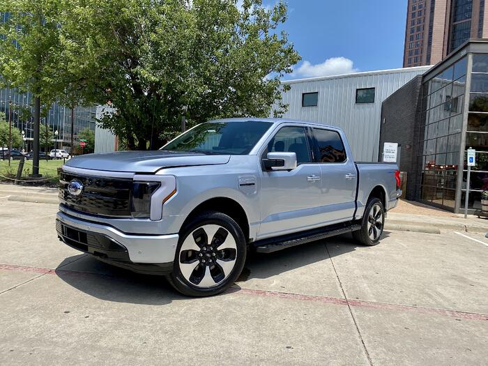 All-Electric 2022 Ford F-150 Lightning Makes Texas Debut