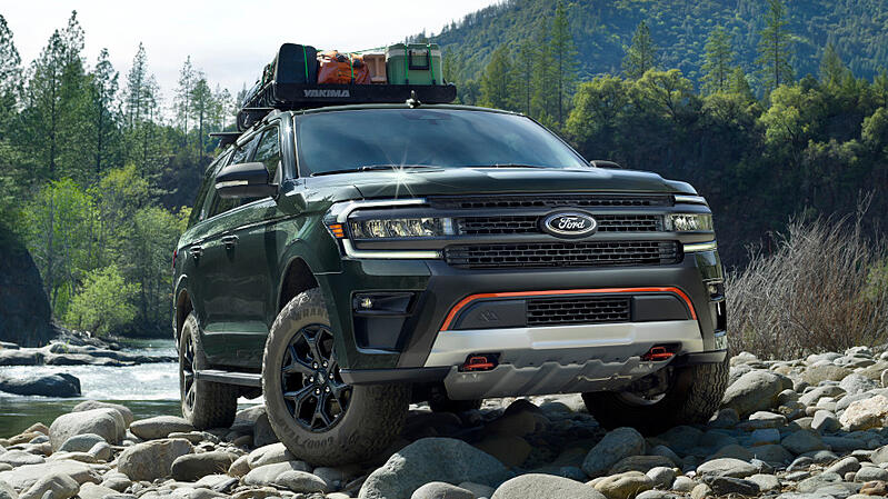 Ford Debuts 2022 Expedition Timberline; Jeep Responds