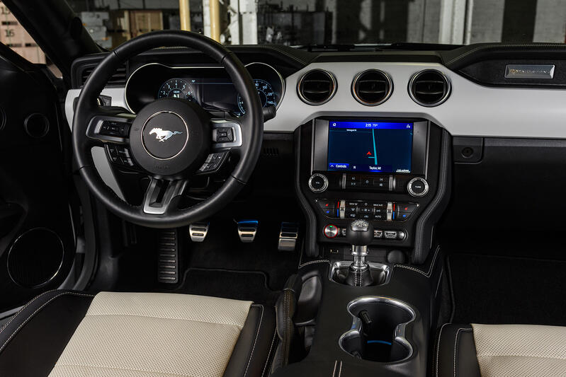 2022 Ford Mustang Ice White Editions