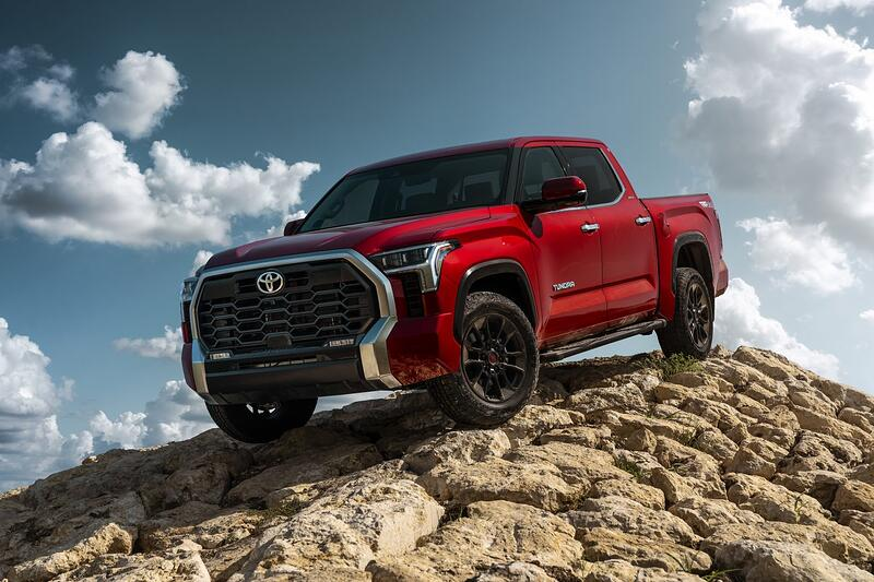 Toyota Introduces All-New 2022 Toyota Tundra With New Powertrains