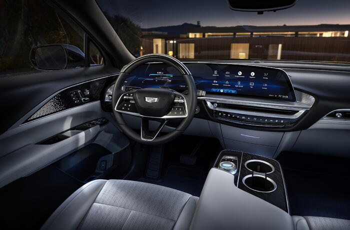 2023 Cadillac LYRIQ's 33-Inch Screen Can Display Over One Billion Colors