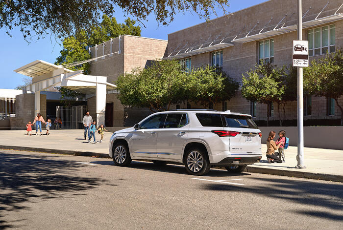 Chevrolet Back-to-School Survey: In-Vehicle Safety Tech Gives Parents Extra Peace of Mind