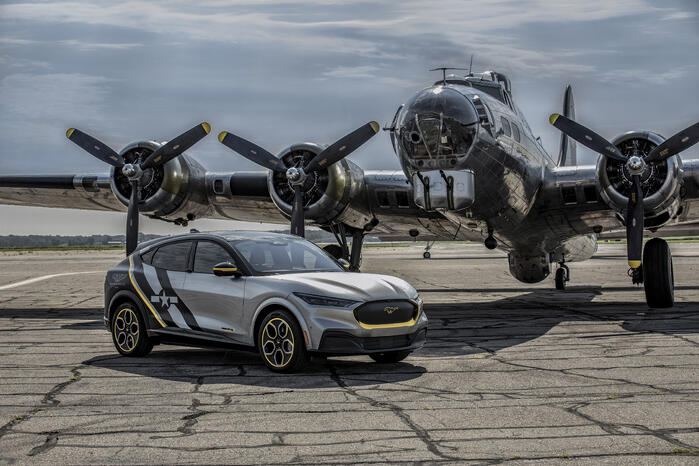 Ford Honors Women Airforce Service Pilots With Custom Mach-E