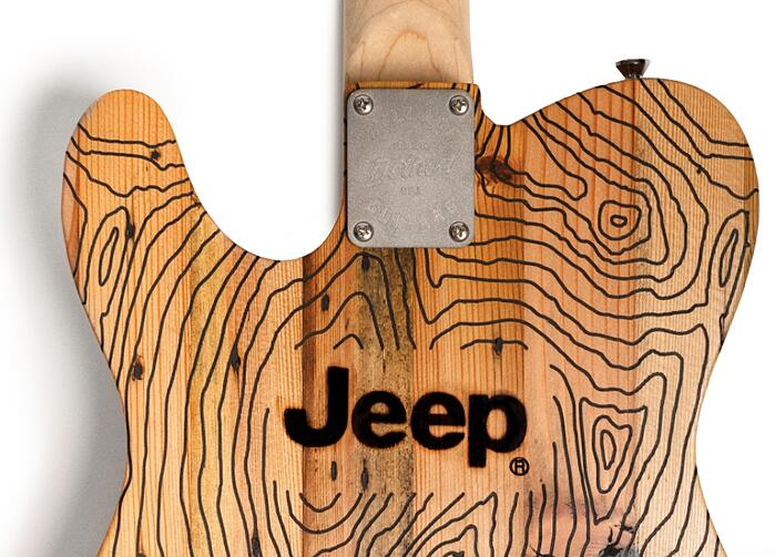 You Can Order Your Jeep Guitar Now