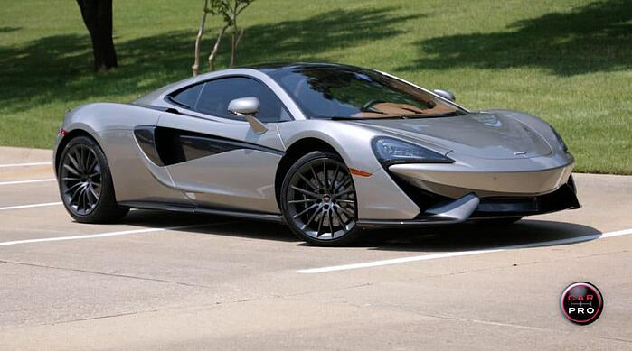 2017 McLaren 570GT Test Drive