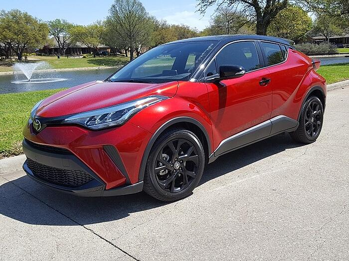 2021 Toyota C-HR Nightshade Review