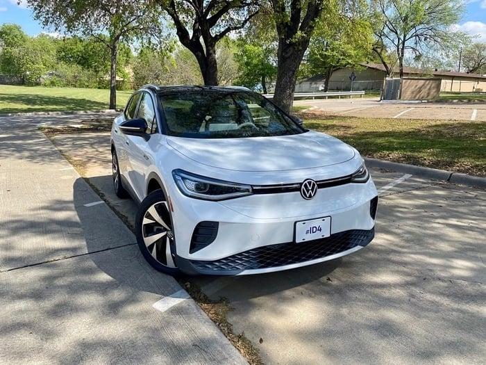2021 VW ID.4 All-Electric SUV