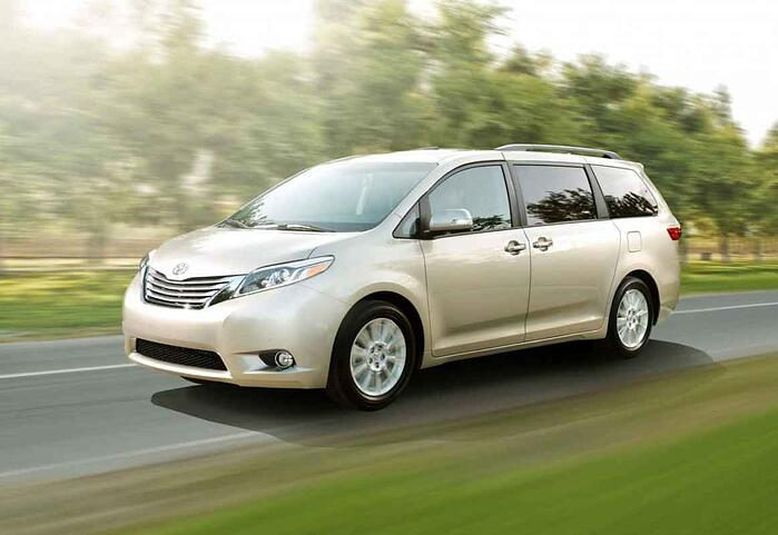 2015 Toyota Sienna XLE Review and Test Drive