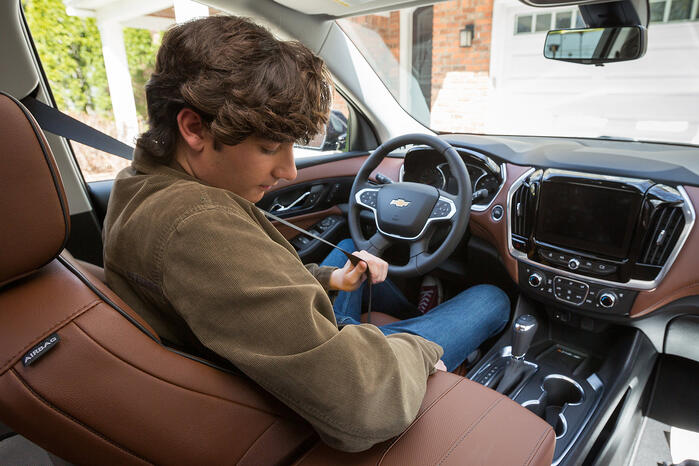 Chevrolet's Buckle To Drive Encourages Teen Seat Belt Use