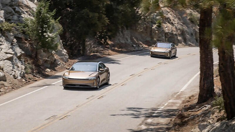 It's Official: EPA Certifies The Lucid EV With 520-Mile Range
