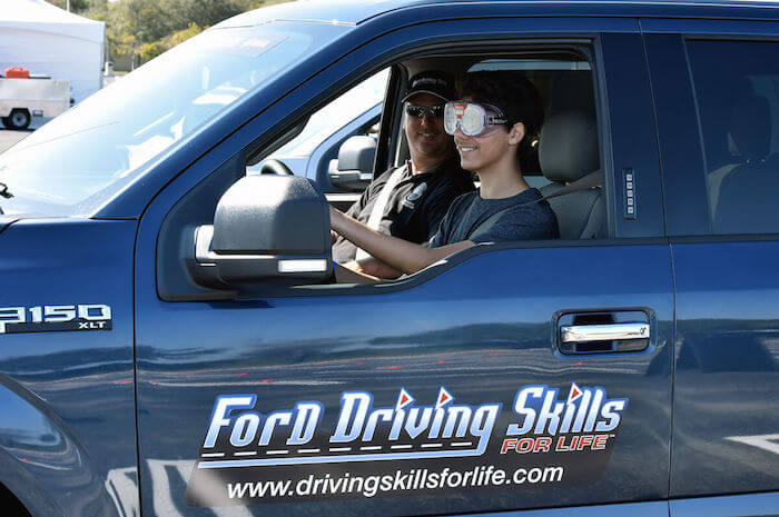 Ford's Free Driving Skills For Life Program Trains New Teen Drivers