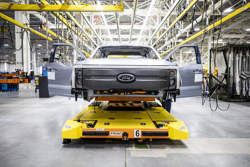 All-Electric Ford F-150 Lightning Pre-Production Is Underway