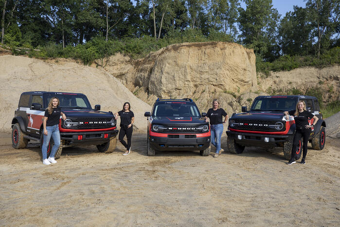 Ford Sends Bronco Lineup To Compete In Rebelle Rally