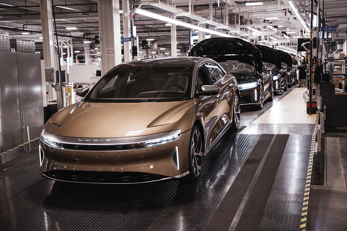 Lucid Air Deliveries Start Later This Month