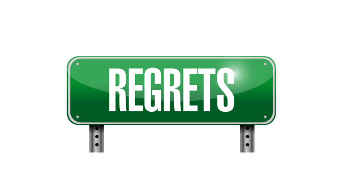 True Stories From A Former Car Dealer #39: Regrets