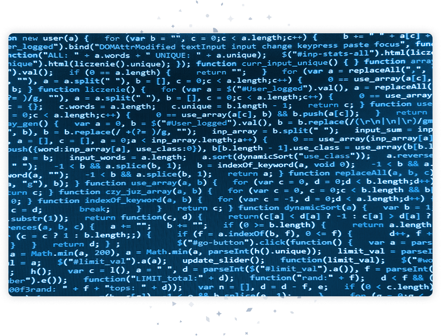 Code with flow