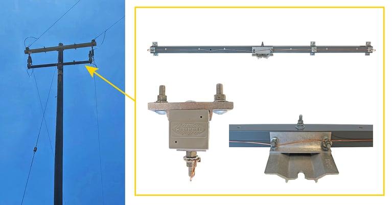 fiberglass brackets for utilities