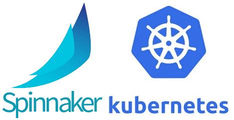 Spinnaker K8 logo combined