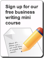 business writing icon