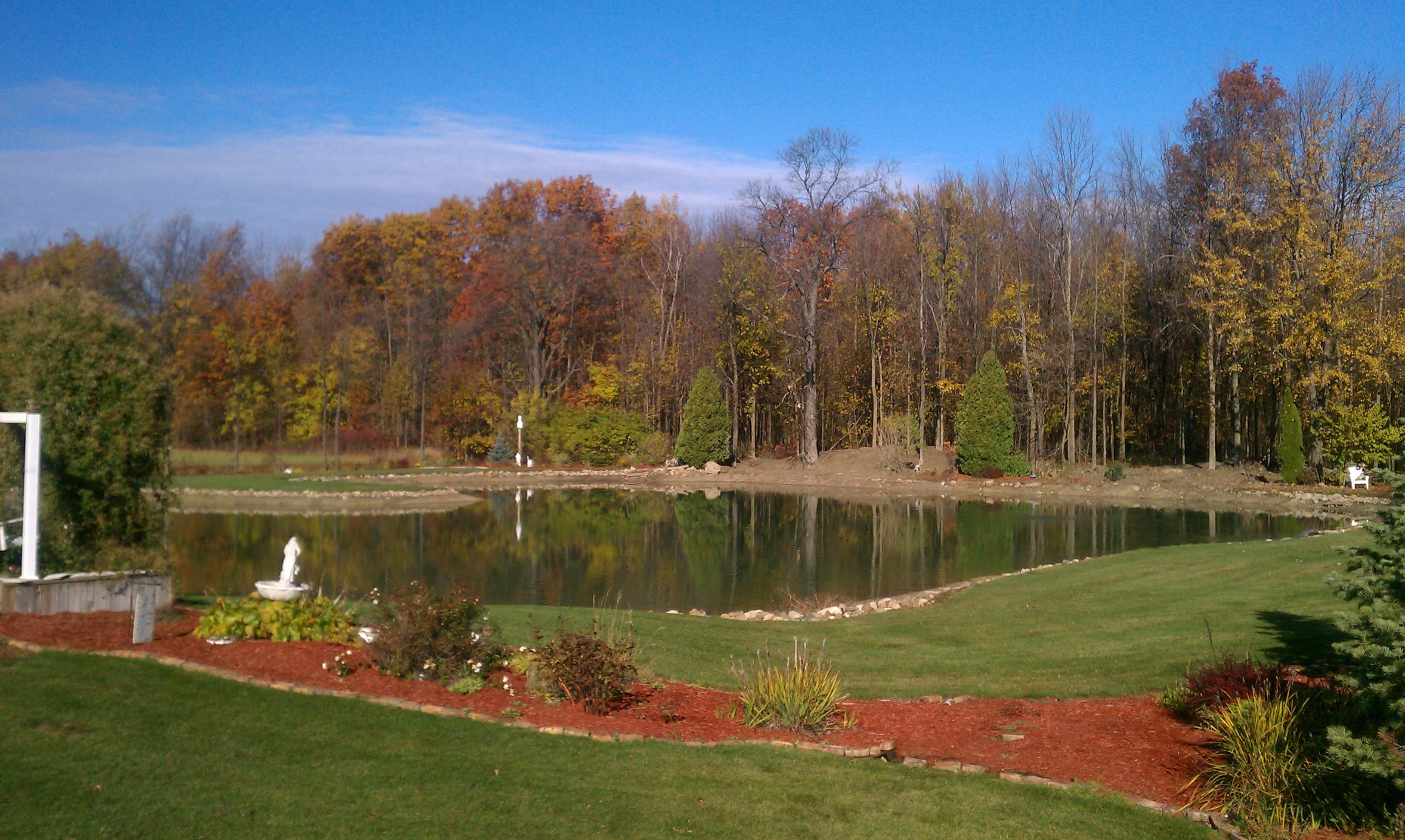 Pond Digging Lansing Michigan Lansing Pond