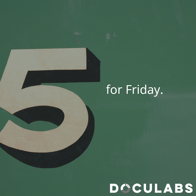 Five for Friday process excellence findings from Celonis research, moves onto an insurance company's journey to cloud infrastructure, and wraps with three different looks at digitization challenges and benefits.