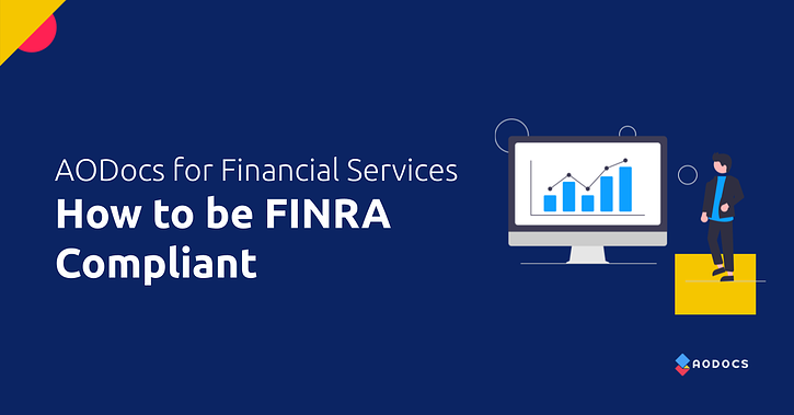 How Financial Services Companies Can Be FINRA Compliant