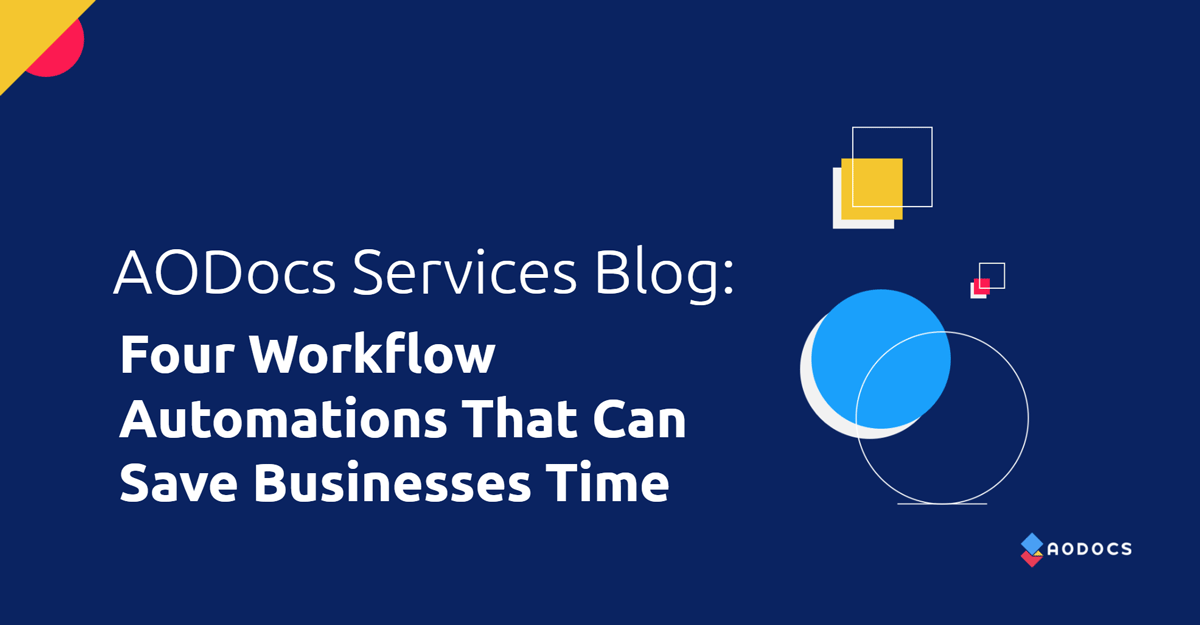 Four Useful Workflow Automations That Can Save Businesses Time